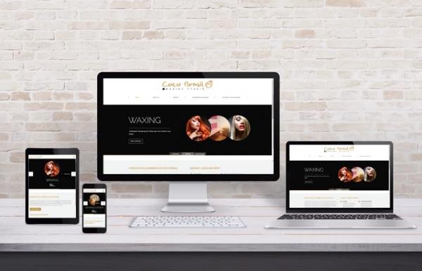 Coco Brasil - Webdesign