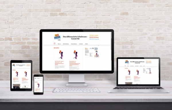 Differenziertes Schulwesen - Webdesign