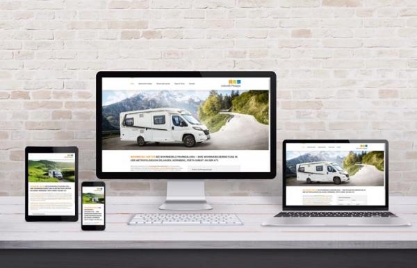 Wohnmobilvermietung - Webdesign