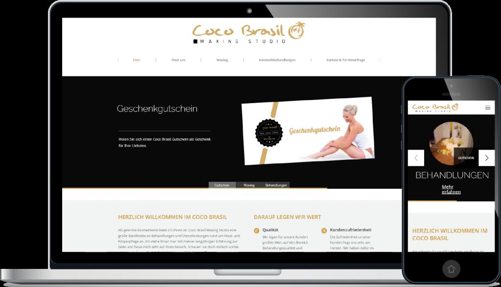 Projekt Website CocoBrasil