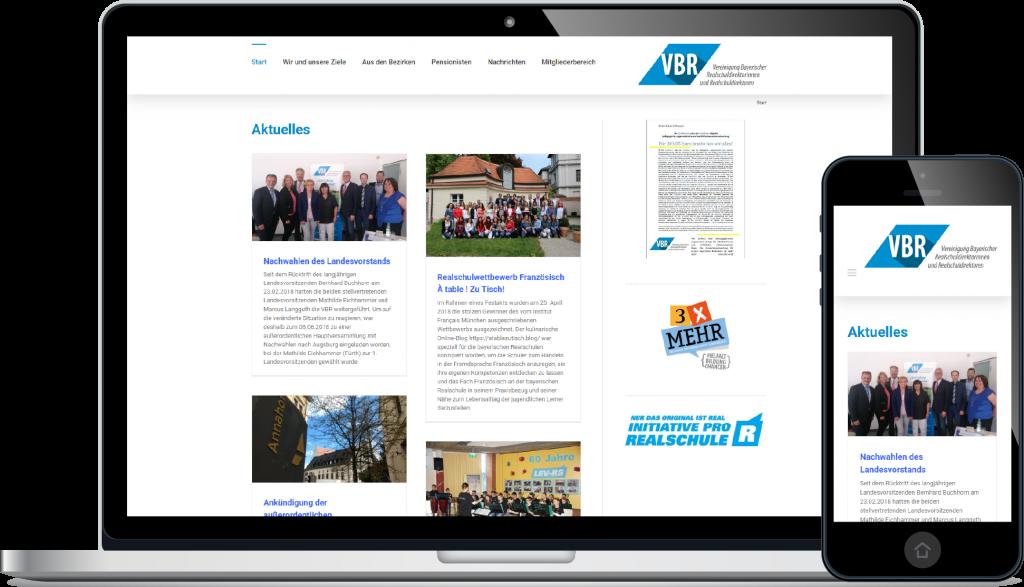 Projekt Website VBR