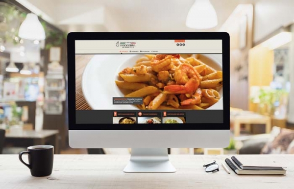 Projekt Website Pizzeria